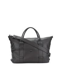 dunkelbraune Leder Reisetasche von Zanellato