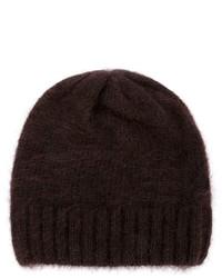 dunkelbraune Mütze von Ami