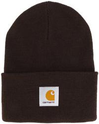 dunkelbraune Mütze von Carhartt