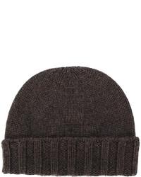 dunkelbraune Mütze von Drumohr