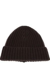 dunkelbraune Mütze von Malo