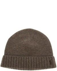 dunkelbraune Mütze von Ralph Lauren