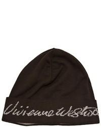 dunkelbraune Mütze von Vivienne Westwood