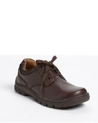 dunkelbraune Oxford Schuhe
