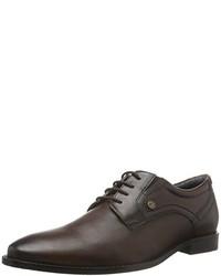 dunkelbraune Oxford Schuhe von s.Oliver
