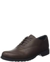 dunkelbraune Oxford Schuhe von Timberland