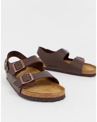 dunkelbraune Sandalen von Birkenstock