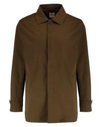 dunkelbraune Shirtjacke von Zalando Essentials