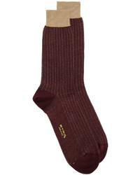 dunkelbraune Socken von Etro