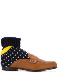 dunkelbraune Socken von Loewe