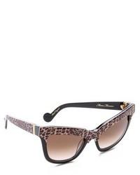 dunkelbraune Sonnenbrille mit Leopardenmuster von Karlsson