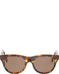 dunkelbraune Sonnenbrille von A.P.C.
