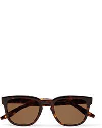 Dunkelbraune Sonnenbrille von Barton Perreira