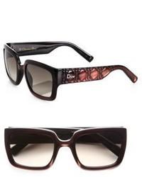 Dunkelbraune Sonnenbrille von Christian Dior