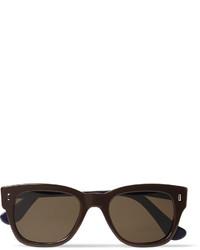 dunkelbraune Sonnenbrille von Cutler & Gross