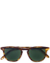 dunkelbraune Sonnenbrille von Garrett Leight
