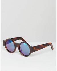 dunkelbraune Sonnenbrille von House of Holland