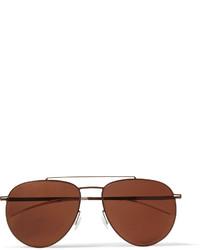 dunkelbraune Sonnenbrille von Mykita