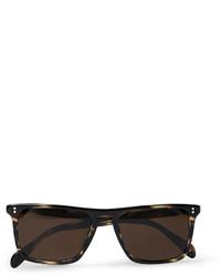 dunkelbraune Sonnenbrille von Oliver Peoples