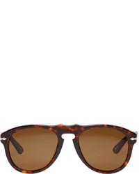 Dunkelbraune Sonnenbrille von Persol