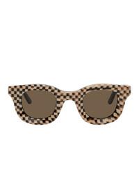 dunkelbraune Sonnenbrille von Rhude