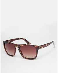 dunkelbraune Sonnenbrille von Selected