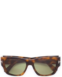 dunkelbraune Sonnenbrille von Tom Ford
