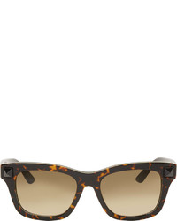 dunkelbraune Sonnenbrille von Valentino