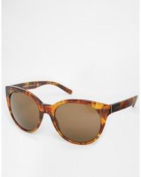 dunkelbraune Sonnenbrille von Versace