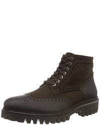 dunkelbraune Stiefel von Karl Lagerfeld