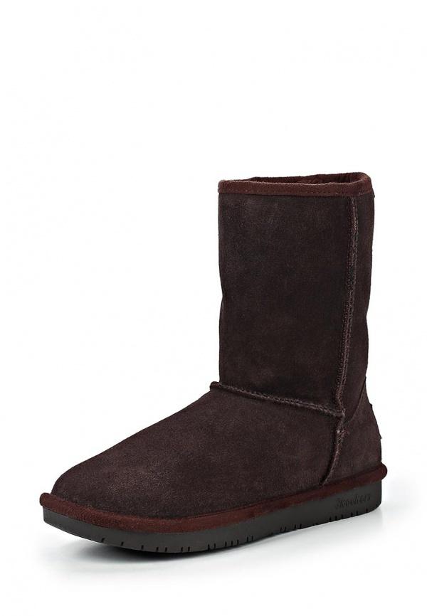 ... dunkelbraune Ugg Stiefel von Skechers