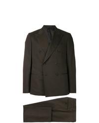 dunkelbrauner Anzug von Caruso