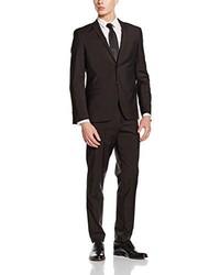 Dunkelbrauner Anzug von s.Oliver BLACK LABEL