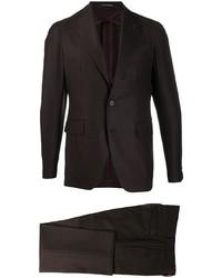 dunkelbrauner Anzug von Tagliatore
