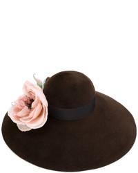 dunkelbrauner Hut von Gucci