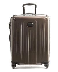 dunkelbrauner Koffer