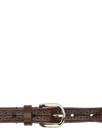 dunkelbrauner Ledergürtel von Isabel Marant