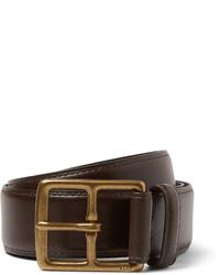 dunkelbrauner Ledergürtel von Polo Ralph Lauren