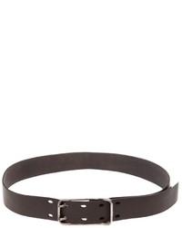 dunkelbrauner Ledergürtel von Werkstatt:Munchen