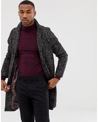 dunkelbrauner Mantel von Harry Brown