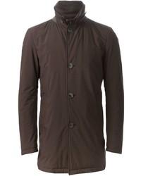 dunkelbrauner Mantel von Herno