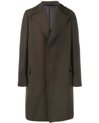 dunkelbrauner Mantel von Lanvin