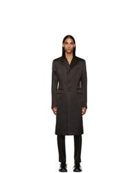 dunkelbrauner Mantel von Prada