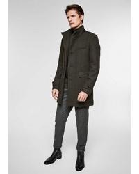 dunkelbrauner Mantel von s.Oliver BLACK LABEL