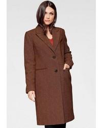 dunkelbrauner Mantel von Vero Moda