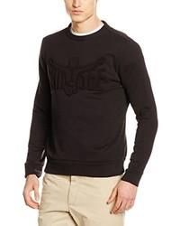 dunkelbrauner Pullover mit einem Rundhalsausschnitt von Chiemsee