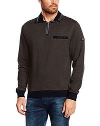 dunkelbrauner Pullover von Casamoda