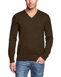 dunkelbrauner Pullover von Eddie Bauer