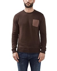dunkelbrauner Pullover von Esprit