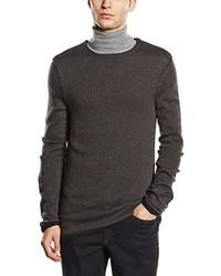 dunkelbrauner Pullover von Q/S designed by